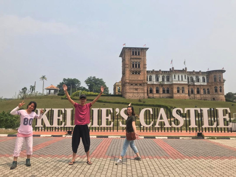 at Kellie's Castle with Gary and Jixin (R)