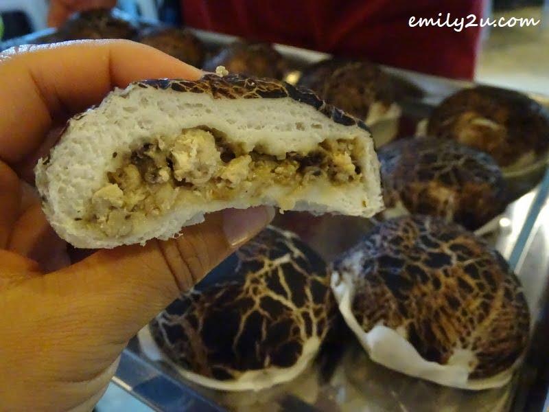 chicken mushroom bun