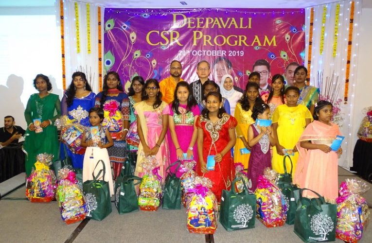 Deepavali Celebration with the Underprivileged