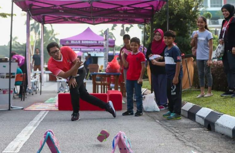 7,000 Join Ipoh Car-Free Day