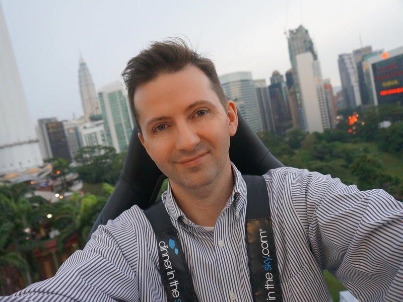 Dinner in the Sky in Kuala Lumpur
