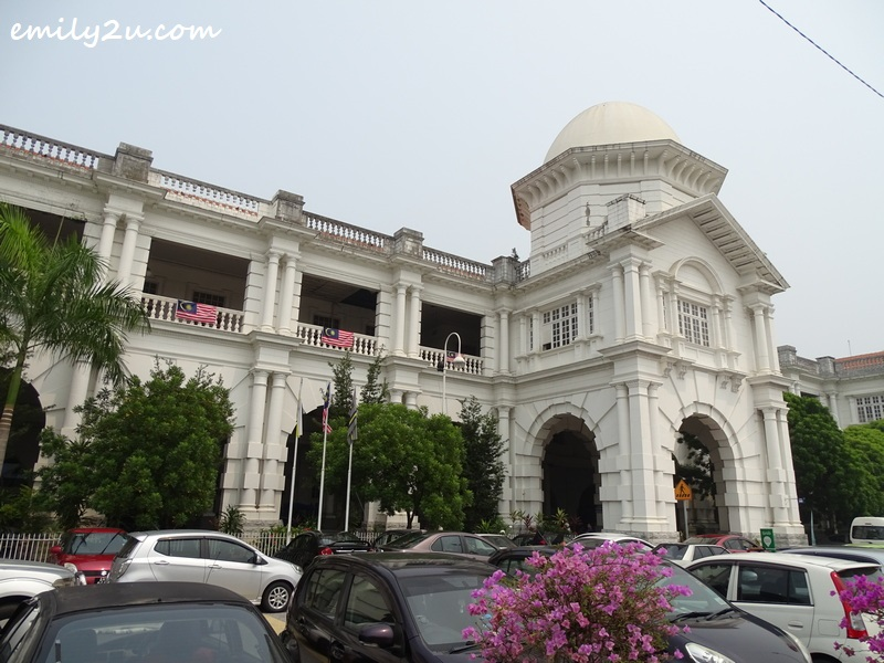 Ipoh Railway Station, dubbed the Taj Mahal of Ipoh
