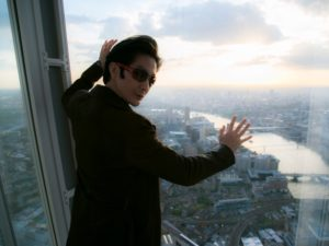 in The Shard in London – western Europe's tallest building