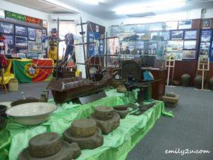 inside Portuguese Settlement Heritage Museum