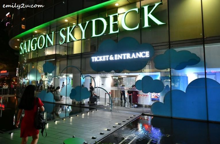 Ho Chi Minh City Attraction: Saigon Skydeck @ Bitexco Financial Tower
