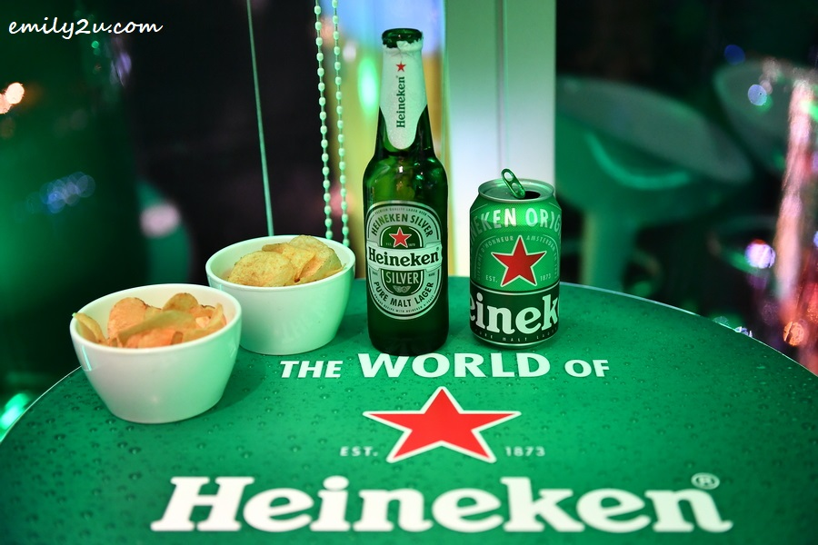 at the World's Highest Heineken Bar in Ho Chi Minh City, Vietnam