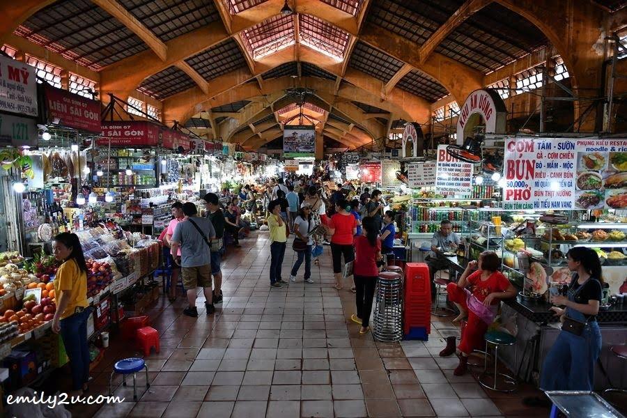 inside Ban Thanh Market