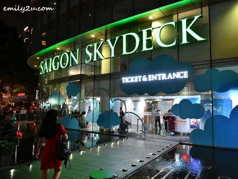 Bitexco Financial Tower Saigon Sky Deck