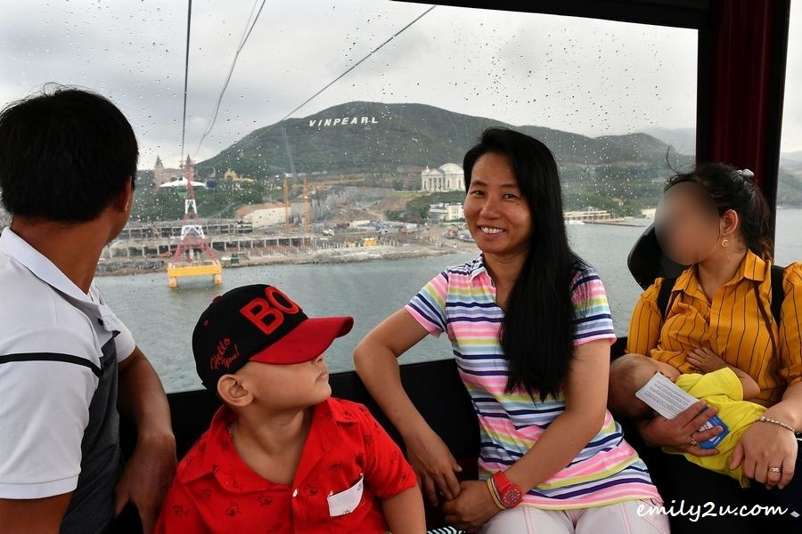 on board the longest sea cable car in the world