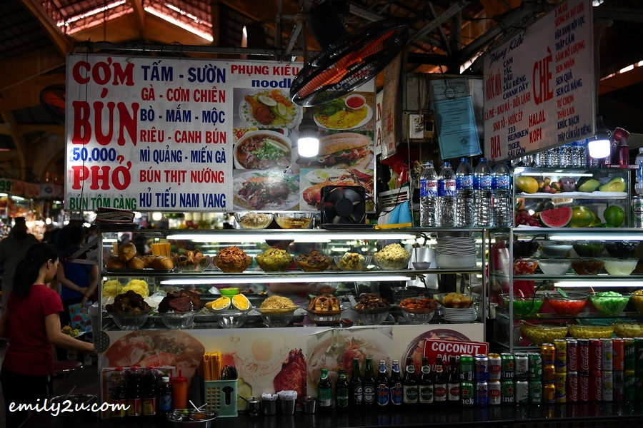 food and drinks stalls