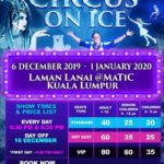 WIN Tickets to Watch Circus On Ice in Kuala Lumpur!