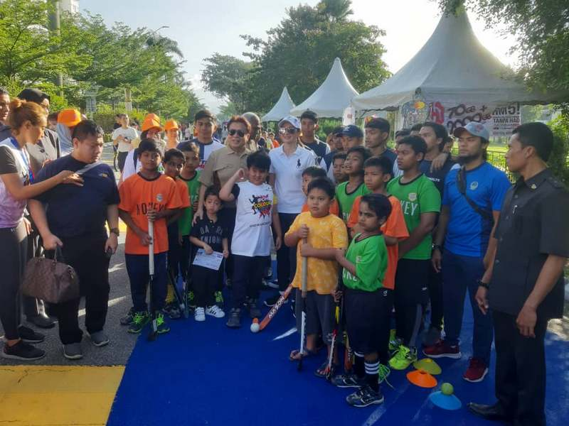 Ashman Shah Hockey Academy (AHF) hockey skills test programme