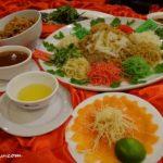 11 Menu C Prosperity Salmon Yee Sang