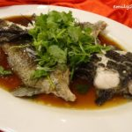 14 Menu C Steamed Marble Goby Fish in Soy Sauce