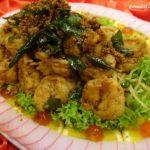 15 Menu C Pan-fried Big Ming Prawns with Butter