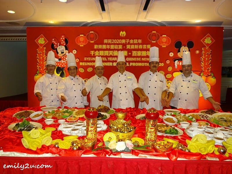 Syeun Hotel Ipoh Chinese cuisine culinary team