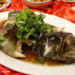 4 Menu B Steamed Dragon Tiger Garoupa Fish
