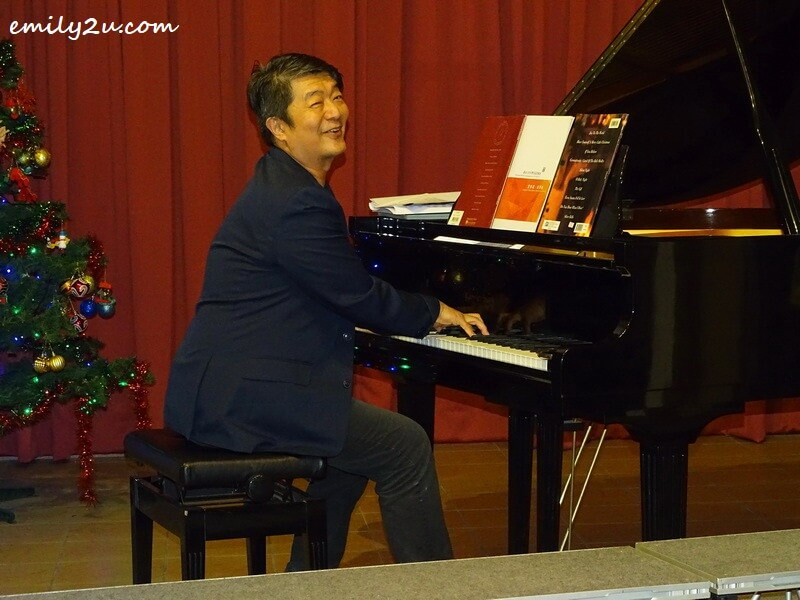 accompanist Kok Kee Boon, an accomplished pianist
