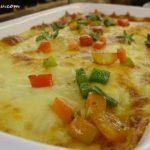 9 Potato Chicken Ham & Leek Gratin