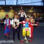 Au Young Events clowns
