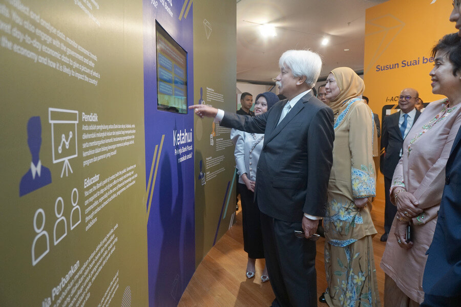 This exhibition condensed six decades of central banking that provides the historical context needed to understand the institution that has been tasked from day one to develop the financial and economic landscape of Malaysia.