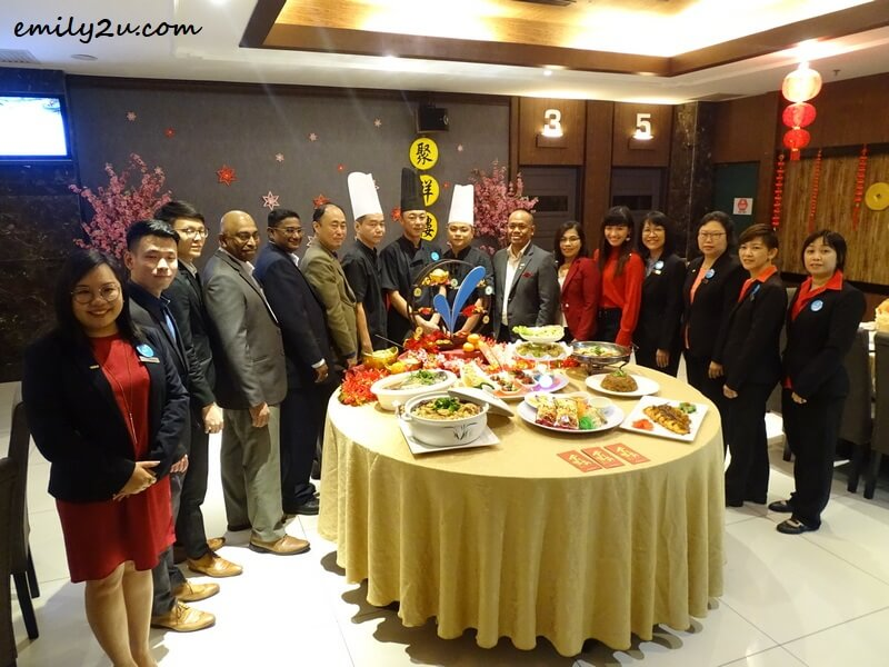Kinta Riverfront Hotel management team and culinary crew