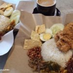 Nasi Lemak Fried Chicken Chop