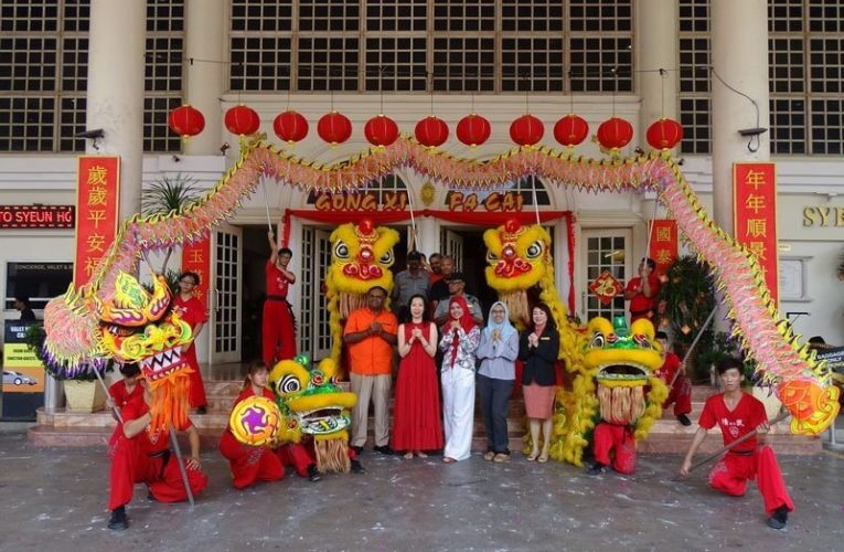 Celebration to Welcome the Year of the Rat at Syeun Hotel Ipoh