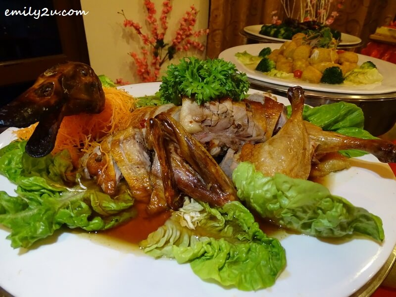 Roasted Duck with Plum Sauce