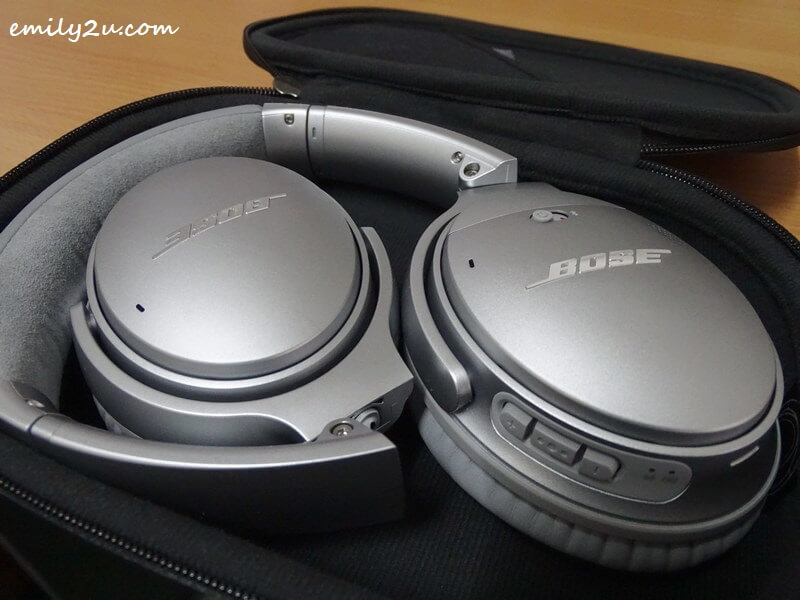 the foldable Bose QuietComfort 35 II wireless headphones