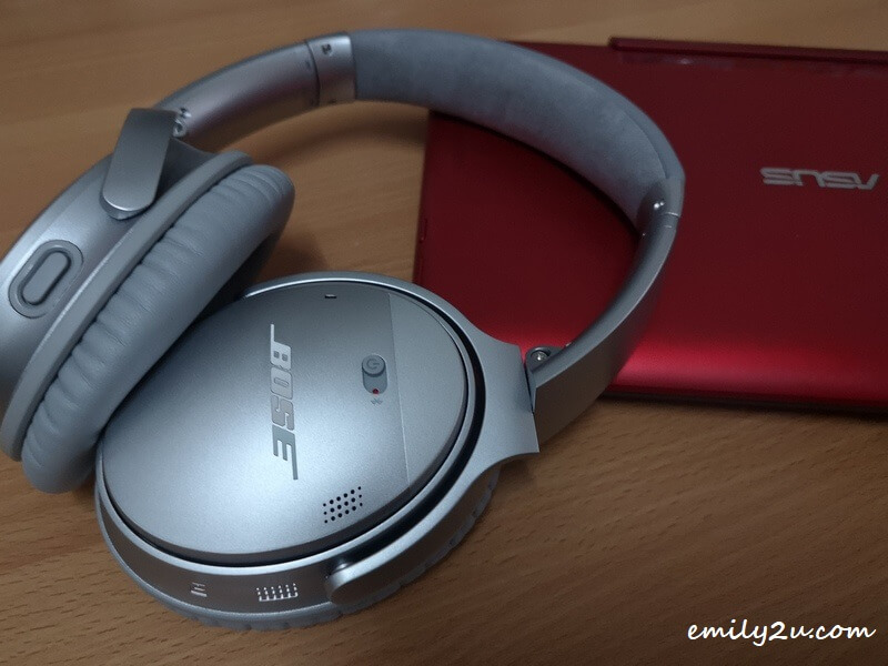 my new Bose QuietComfort 35 II wireless headphones