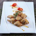5 signature abalone mushroom with creamy sauce
