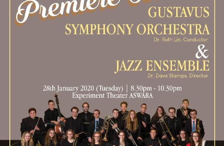 Announcement: Asian Premiere Concert: Gustavus Symphony Orchestra & Jazz Ensemble