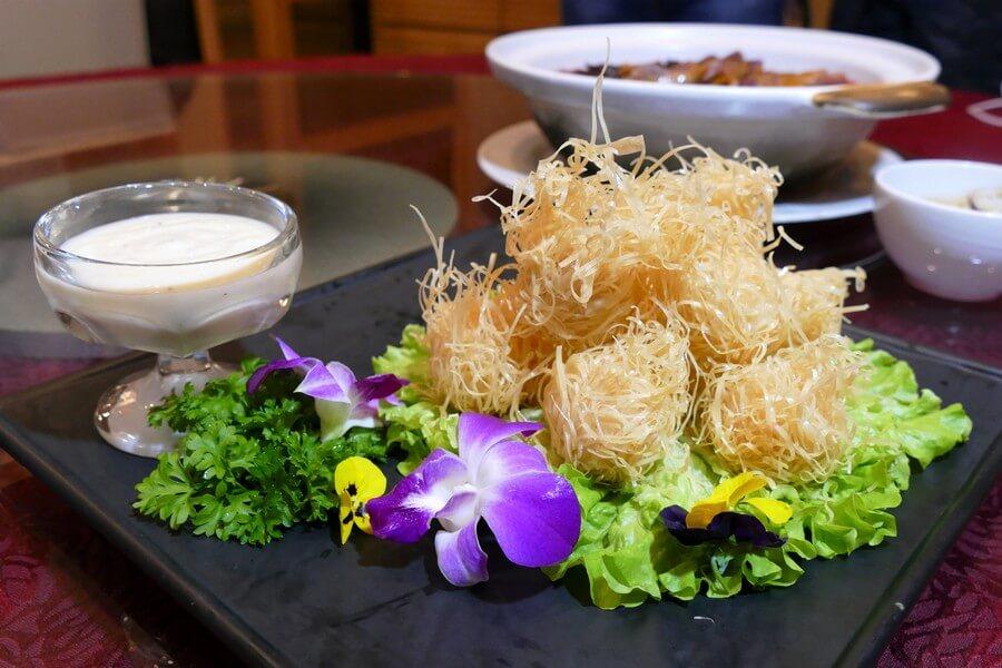 Imperial Rama - Deep-fried crispy prawn balls