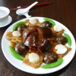 Ming Ren-Braised assorted seafood with oyster sauce