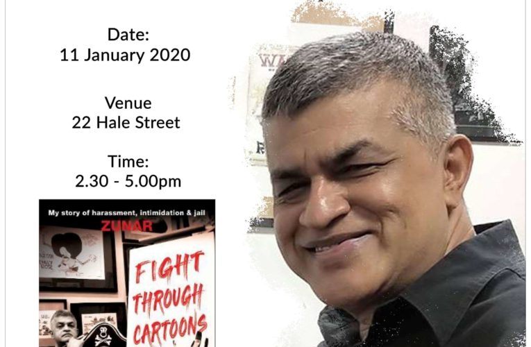 Announcement: Sharpened Word: Running Out of Ideas. Zunar?