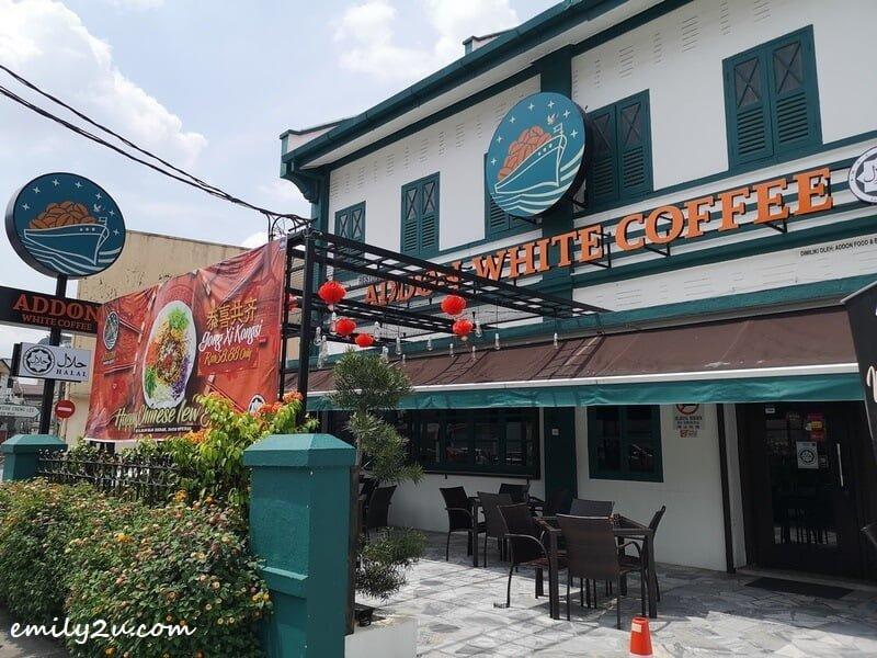 AddOn White Coffee, Jalan Raja Ekram, Ipoh