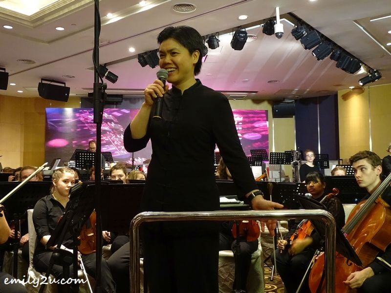 conductor Dr Ruth Lin