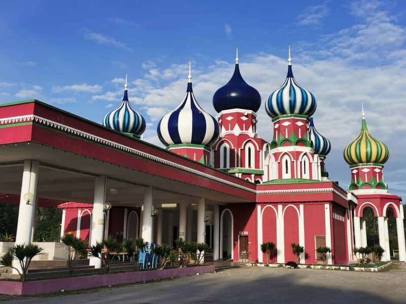 Masjid Lapan Kubah (Masjid Russia)