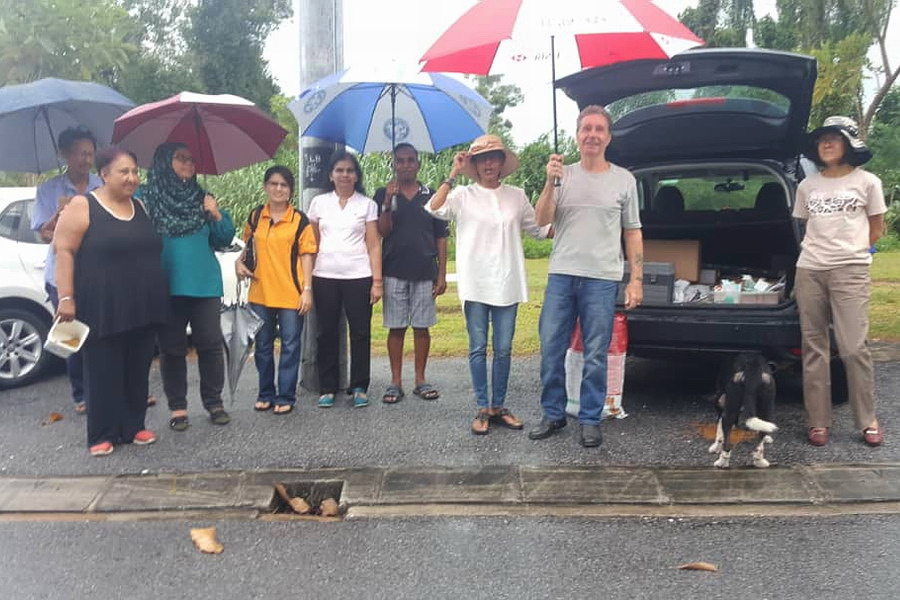 volunteers of Noah's Ark Ipoh (NAI)