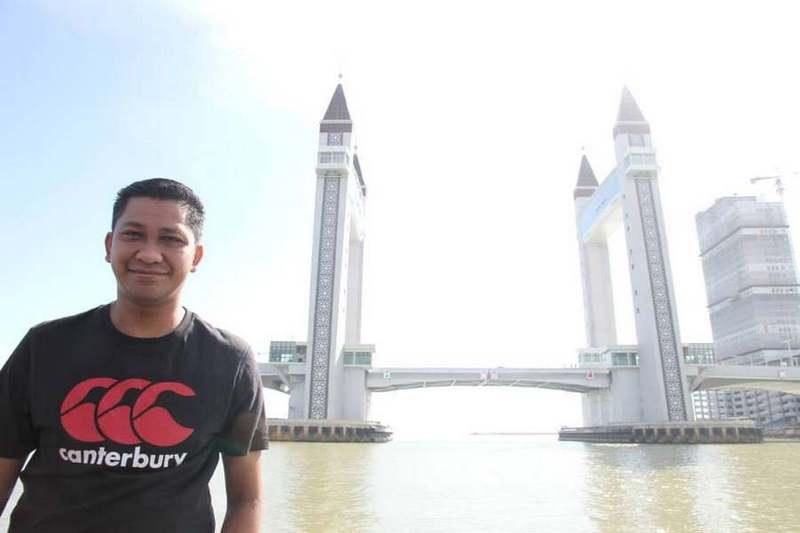 photoshoot at Kuala Terengganu Drawbridge (Jambatan Angkat Kuala Terengganu)