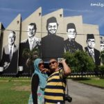 Kuala Terengganu's Latest Attraction: Mural Portraits of Malaysia's Seven Prime Ministers
