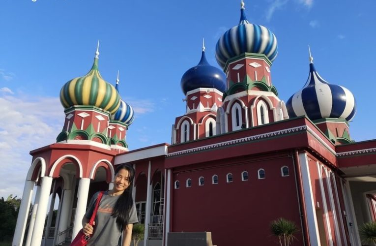 Masjid Lapan Kubah (Masjid Russia) in Jerteh, Terengganu