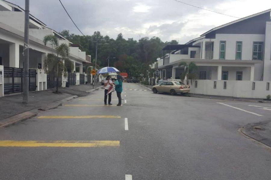 the neighbourhood Jalan Lahat Bistari 1 in Lahat