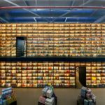 BookXcess Sunway Big Box 32,000 sqft concept bookstore and its Box of Knowledge, the 7.5metre tall bookshelves that holds a Children's Cave.