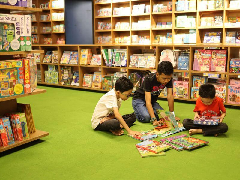 Children's Cave at BookXcess Sunway Big Box