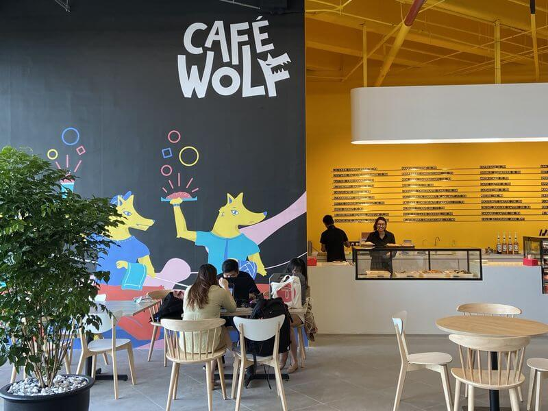 Customers can also enjoy a cup of coffee and a spread of sweet treats for the sweet-toothed at BookXcess' very own in-store café, Café Wolf
