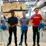 (LtoR) Nitish Ramanah, Head of the Design Department of BookXcess, Andrew Yap, Co-Founder of BookXcess and Chan Hoi Choy, CEO Sunway Malls _ Theme Parks at the official opening ceremony of Book