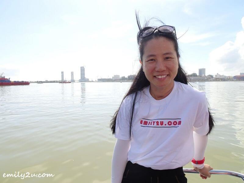 on the Terengganu River Cruise