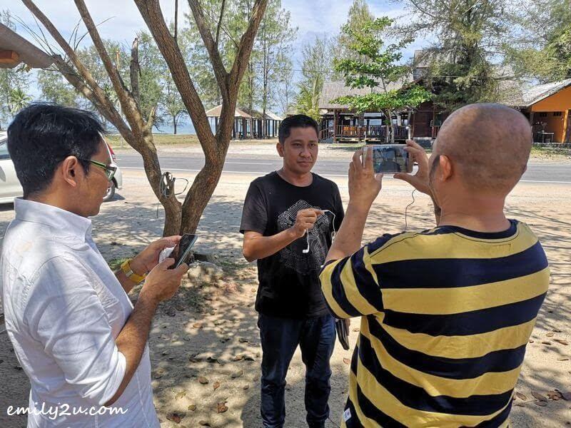 TV Alhijrah interviews Ipoh City Council Public Relations Officer Mohd. Syahrizal bin Azmi